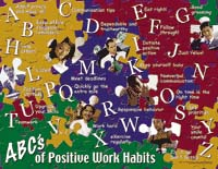 Clue In: ABC's of Positive Work Habits Curriculum Kit